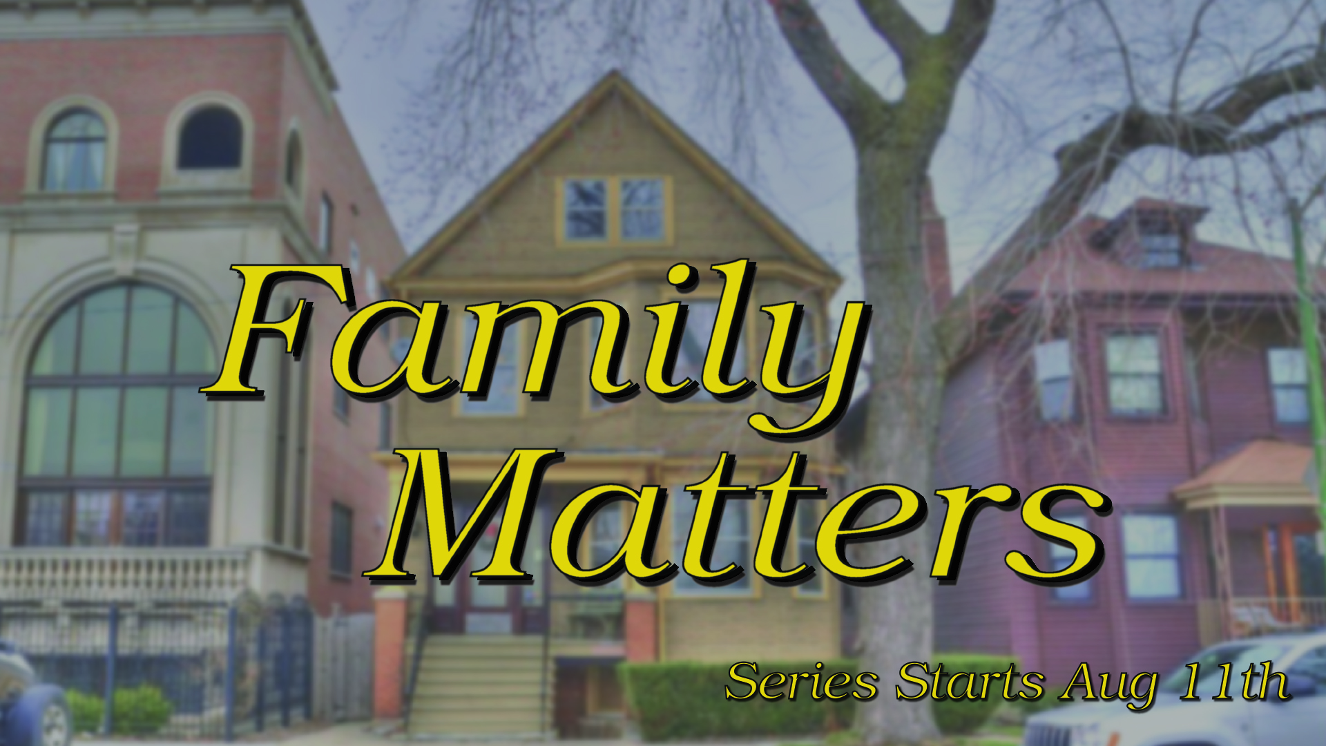 Family Matters pt. 2: Vision for your kid's future!
