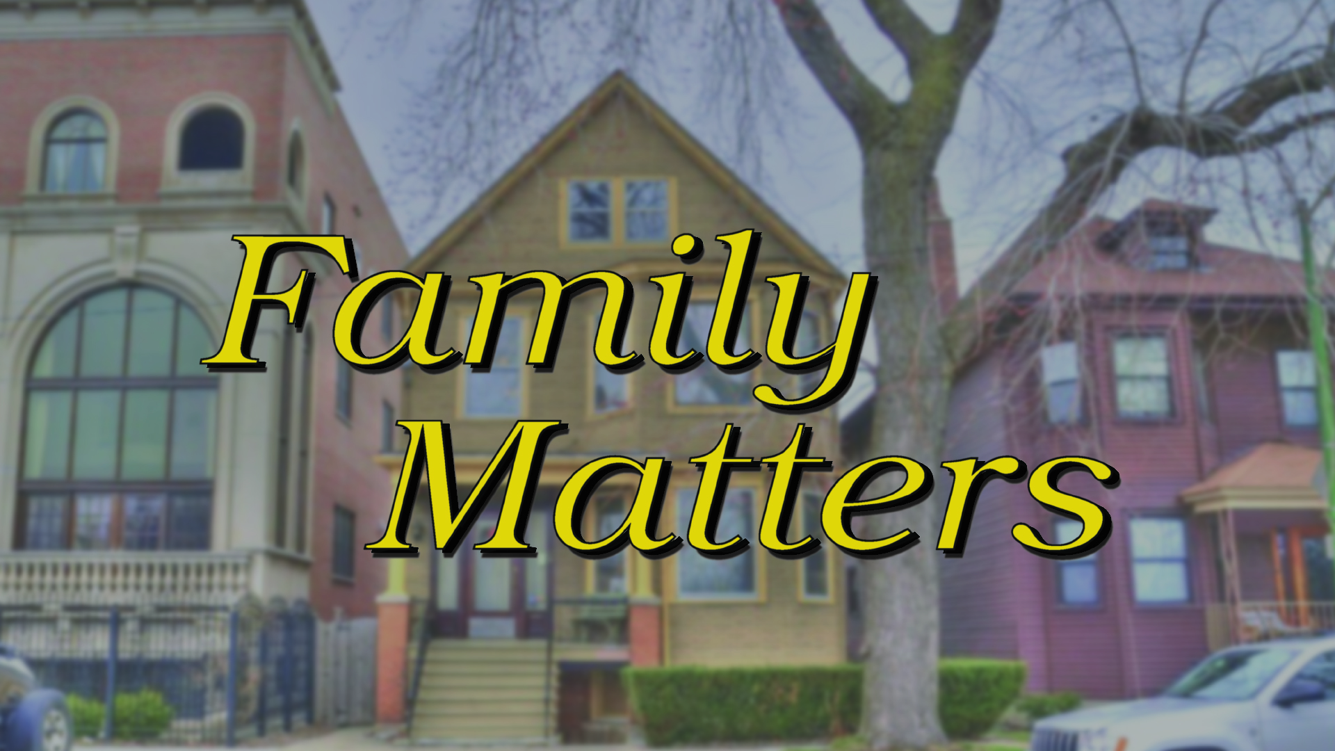Family Matters pt 4: God Can Use an Imperfect Family!