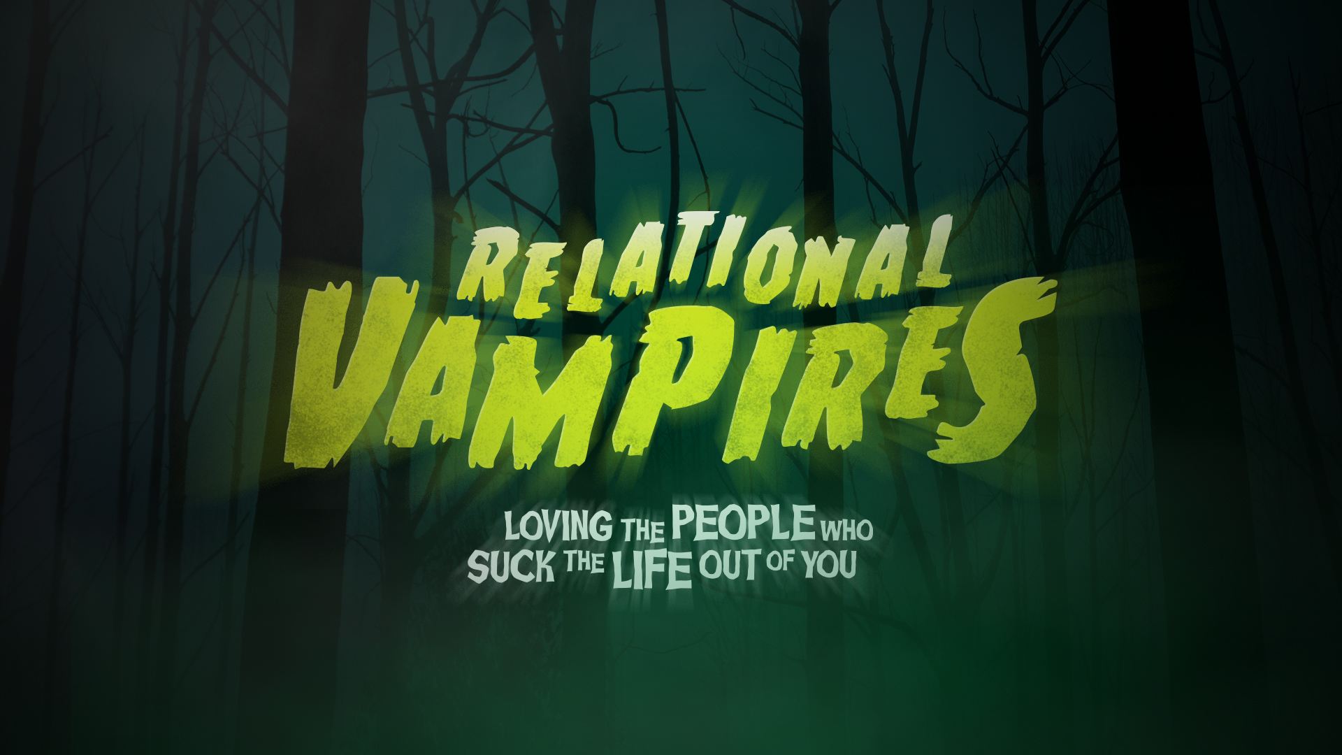 Relational Vampires pt 1: Controlling People