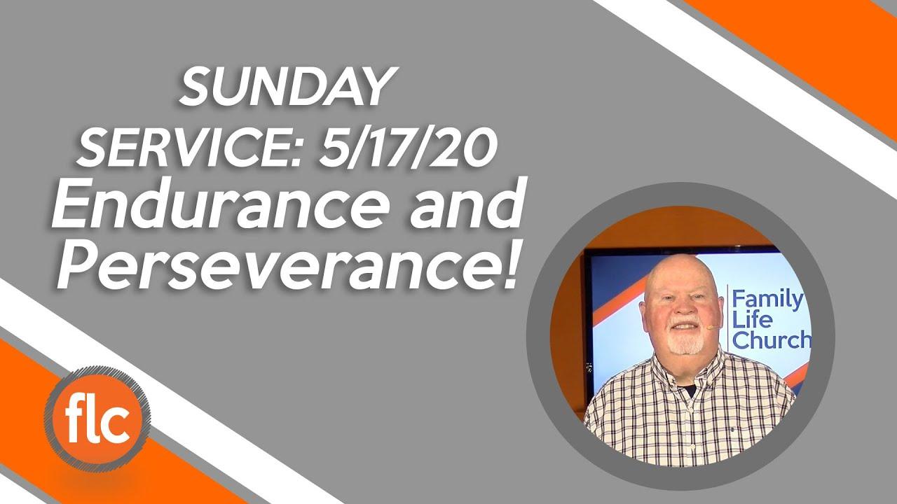 Endurance & Perseverance
