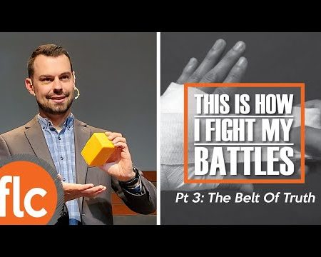 This Is How I Fight My Battles: Belt of Truth